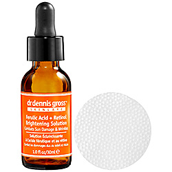 DrDenisGross Ferulic Acid Retinol Brightening Solution Review
