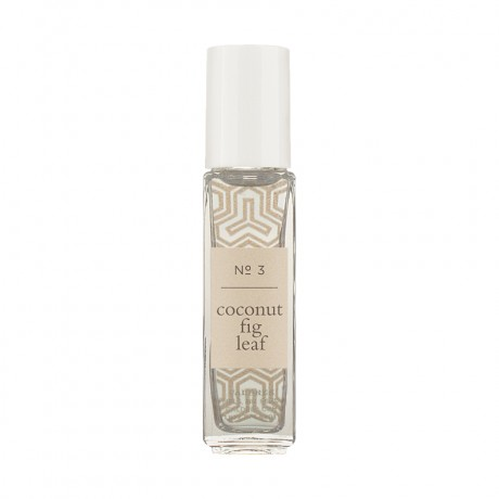 Caldrea Roller Ball Perfume Coconut Fig Leaf Review