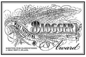 VeryInspringingBloggerAward