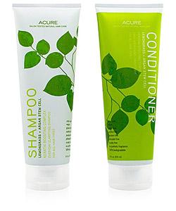 acure organics hair care lemongrass argan stem cell review