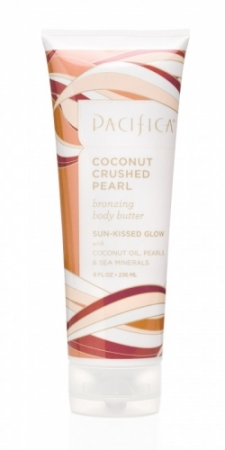 Pacifica coconut crushed pearl bronzing body butter Review