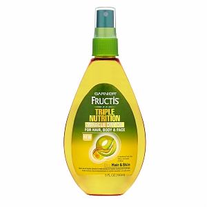 Garnier Fructis Triple Nutrition Miracle Dry Oil For Hair, Body, & Face Review