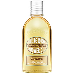 LOccitane Cleansing And Softening Shower Oil With Almond Oil