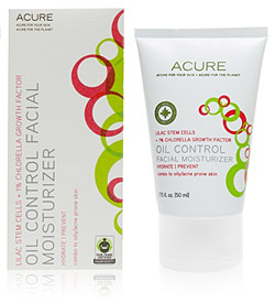 Acure Organics Oil Control Facial Moisturizer Review