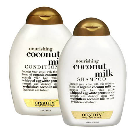 Organix Nourishing Coconut Milk Shampoo and Conditioner Review